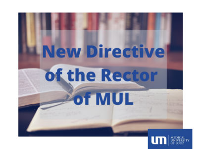 Fragments of the Rector's Directive 48/2020 regarding the gradual coming back to the regular functioning of the University