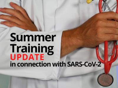 Summer Training Update in connection with SARS-CoV-2