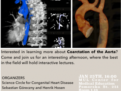 25.01.2018 CONGENITAL HEART DEFECTS – ALL YOU NEED TO KNOW – lectures