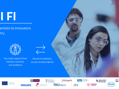 From Scientists to Innovators for Industry – Invitation for recruitment
