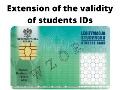 Extension of the validity of students IDs